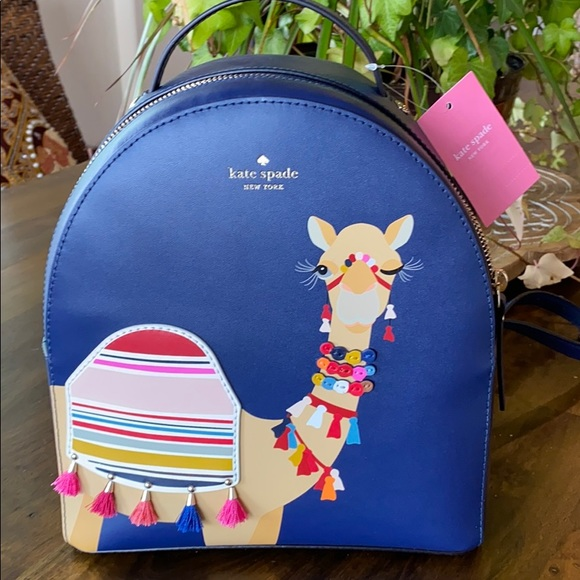 Kate Spade ♠️ Spice Things Up 🐪 Camel Backpack